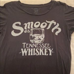 Tennessee Whiskey Distressed Graphic Tee